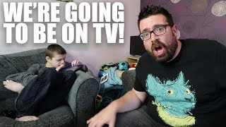 WE'RE GOING TO BE ON TV! | AUTISM FAMILY VLOG