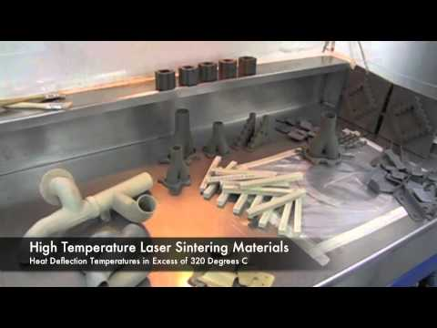 High Temperature Laser Sintering Materials