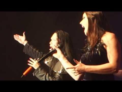 Tarja Turunen with Floor Jansen - Over The Hills And Far Away@Metal Female Voices Fest 11 2013