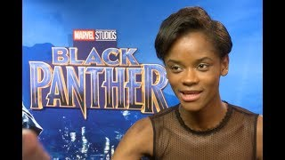 Letitia Wright's Funny Guide To Kicking Ass 'Black Panther' Style