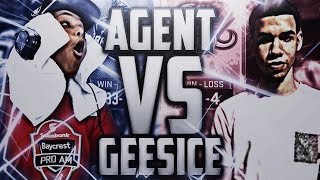 AGENT vs. GEESICE - BIGGEST PRO-AM MATCH OF THE YEAR