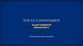 The Rice Investment