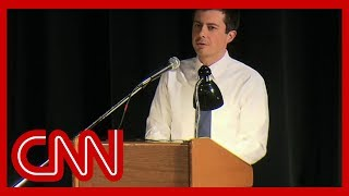 Watch heated moment from Pete Buttigieg's town hall