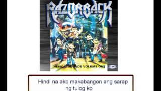 Razorback - Tabi Ng Bulkan (Lyrics Video)