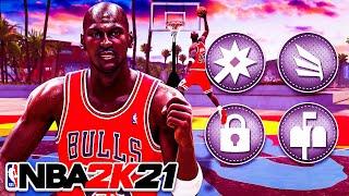 *NEW* PRIME MICHAEL JORDAN BUILD on NBA 2K21! EVERY TAKEOVER UNLOCKED!