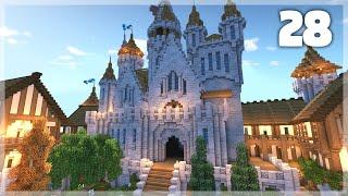 Minecraft: How to Build a Medieval Castle   Huge Medieval Castle Tutorial - Part 28