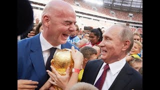 LET'S PLAY SOME FOOTBALL: Russia completes Luzhniki Stadium Renovation for FIFA World Cup 2018