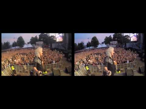 Selfie Stick Video |3D| Kaisaniemen puisto, Helsinki [June 03, 2016] @DrBrianMay