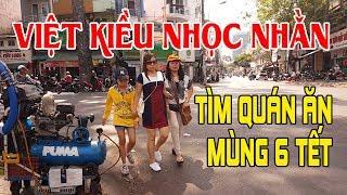 """Việt Kiều về Sài Gòn ăn Tết 2018 """"nhọc nhằn"""" tìm quán ăn uống đầu năm vì sao lại thế?"""
