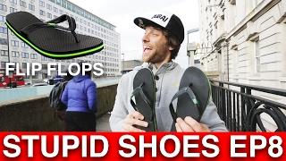 Parkour in FLIP FLOPS?! - Stupid Shoes Parkour EP8
