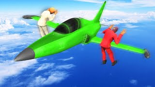 SMASH THE SNIPERS AT 500MPH! (GTA 5 Funny Moments)