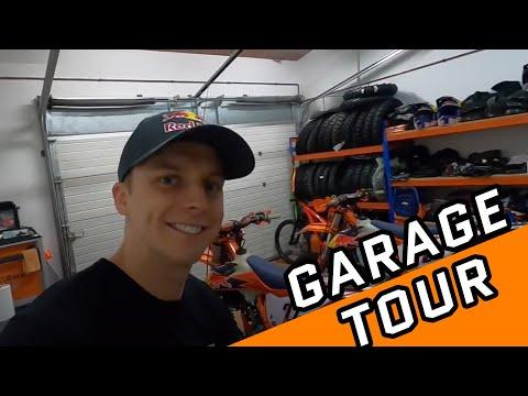 Garage tour KTM 300/350/450