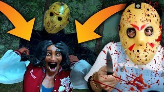JASON IS GOING TO SQUEEZE MY HEAD (Friday The 13th Game)