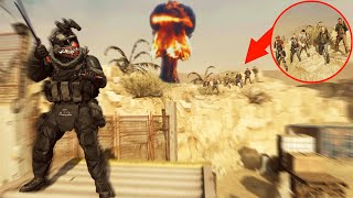 the NEW CRAZIEST GLITCH SPOT on RUST in MODERN WARFARE!?! HIDE N' SEEK ON MODERN WARFARE