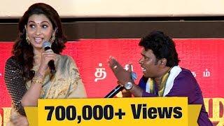Ramar's special song for Priya Bhavani Shankar | Kadaikutty Singam Audio Launch | IBC Tamil