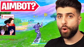Reacting to the Best Aim in Fortnite History!