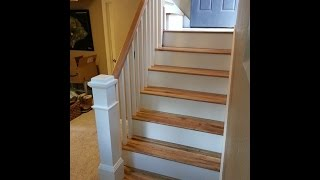Carpet to Hardwood stairs   The Handyman  