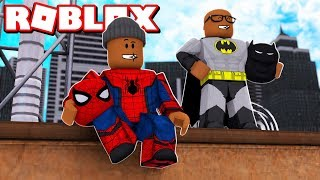 ROBLOX 2 PLAYER SUPERHERO TYCOON