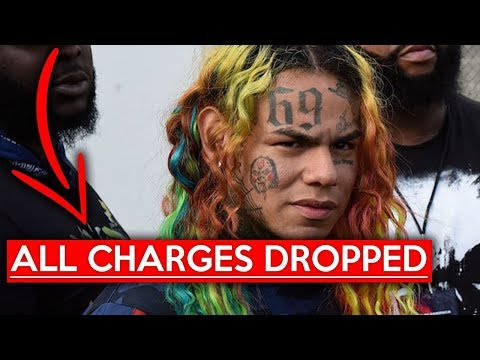 New evidence causes 6ix9ine to be freed with no charges...
