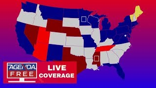 LIVE AGENDA-FREE ELECTION RESULTS COVERAGE