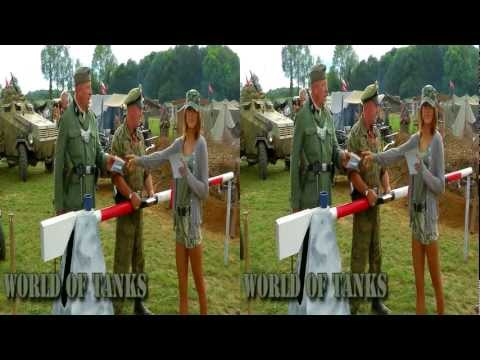 World of Tanks girls at the War and Peace Show 2011