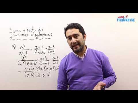 Fracciones algebraicas 8