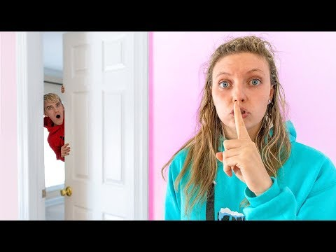 Stephen Sharer Spying on Grace Sharer WORLDS BIGGEST Mystery Machine Surprise!!
