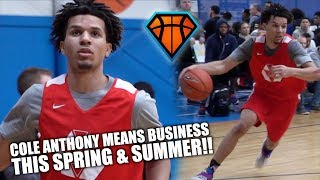 Cole Anthony MEANS BUSINESS THIS SPRING & SUMMER!! | New England HoopFest Highlights