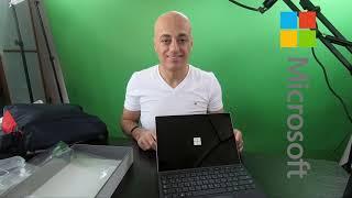 فتح صندوق مايكروسوفت سيرفيس 7 6 و حقيبة تومي - ...
