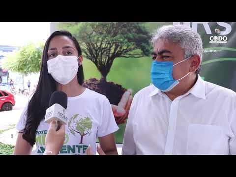PREFEITO DR. ZÉ FRANCISCO PRESTIGIA O ENCERRAMENTO DA SEMANA DO MEIO AMBIENTE EM CODÓ.