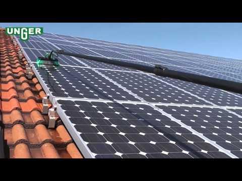 Technique de nettoyage et entretien de modules solaires