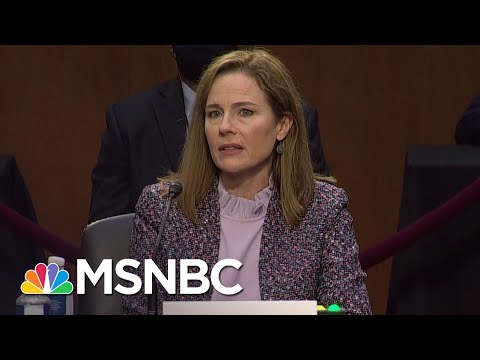 Feinstein Says She Is Really Impressed With Amy Coney Barrett's Definition Of Severability | MSNBC