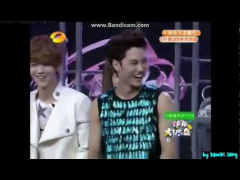 [KOR SUB-한글자막1] 120721 EXO Happy Camp(快乐大本营) Part 1/2