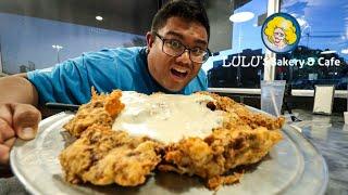 Massive Chicken Fried Steak Challenge