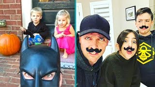 BatDad Family vs EhBee Family Vines - TRY NOT TO LAUGH
