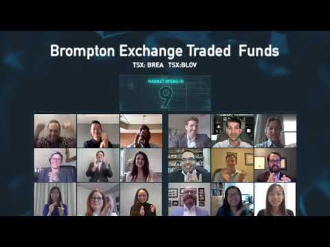 TMX Group congratulates Brompton Exchange Traded Funds on the launch of two new ETFs (TSX:BREA/TSX:BLOV)