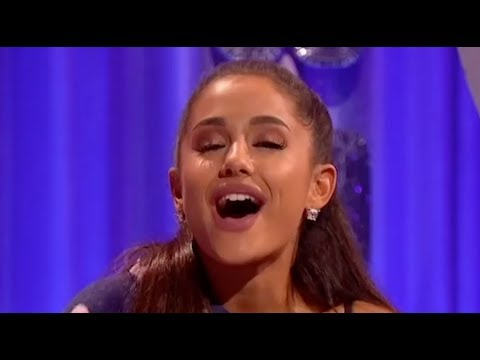 Ariana Grande being a brat for three minutes straight