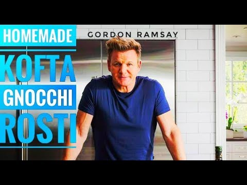 How To Cook Kofta, Homemade Gnocchi, Spicy Black Beans, Leek And Gruyere Recipes | Gordon Ramsay