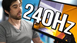 240Hz vs 144Hz - World's Fastest Gaming Monitor Reviewed