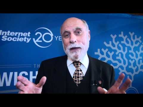 Vint Cerf's wish for the future of the Internet