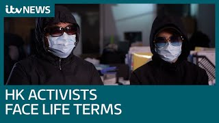 Fleeing Hong Kong activists face life behind bars after arrest   ITV News