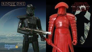 Star Wars: The Last Jedi Electronic Duel Imperial Death Trooper & Elite Praetorian Guard from Hasbro