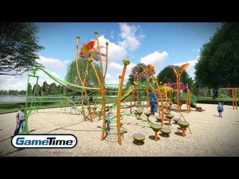PlayWorx: Custom Playground by the Lake