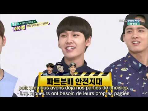 [VOSTFR] BTOB Weekly Idol ep 206 150708
