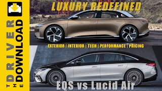 Mercedes EQS vs Lucid Air: Redefining Luxury for the EV Era
