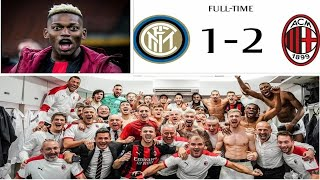 Inter 1-2 AC Milan: Players Reactions after the victory