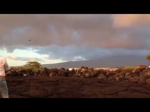 Sneak Peek: Makai shooting the latest #OTEC movie in #Kona - check the #rainbow