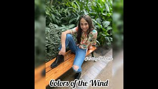 Colors of the Wind cover by 12-year-old Ashley Marina (Disney's Pocahontas)