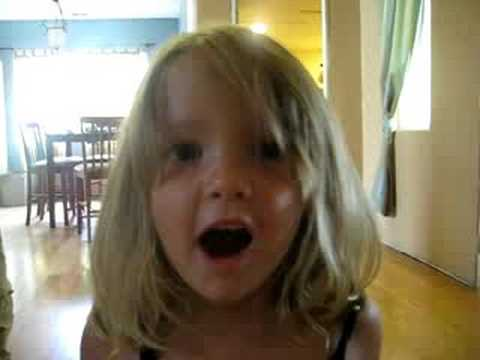 little girl singing amazing grace - YouTube