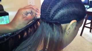 Removal and Reinstallation of 6 Month Old Full Sew In With No Hair Left Out